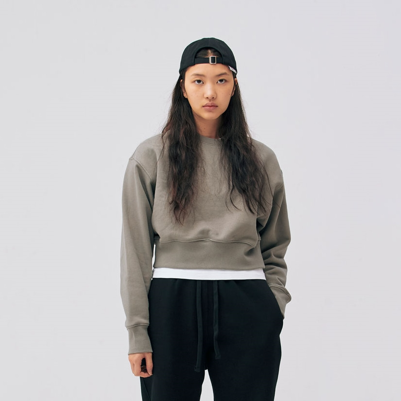 Relaxed 70's Sweatshirts - Machinist (Cropped)