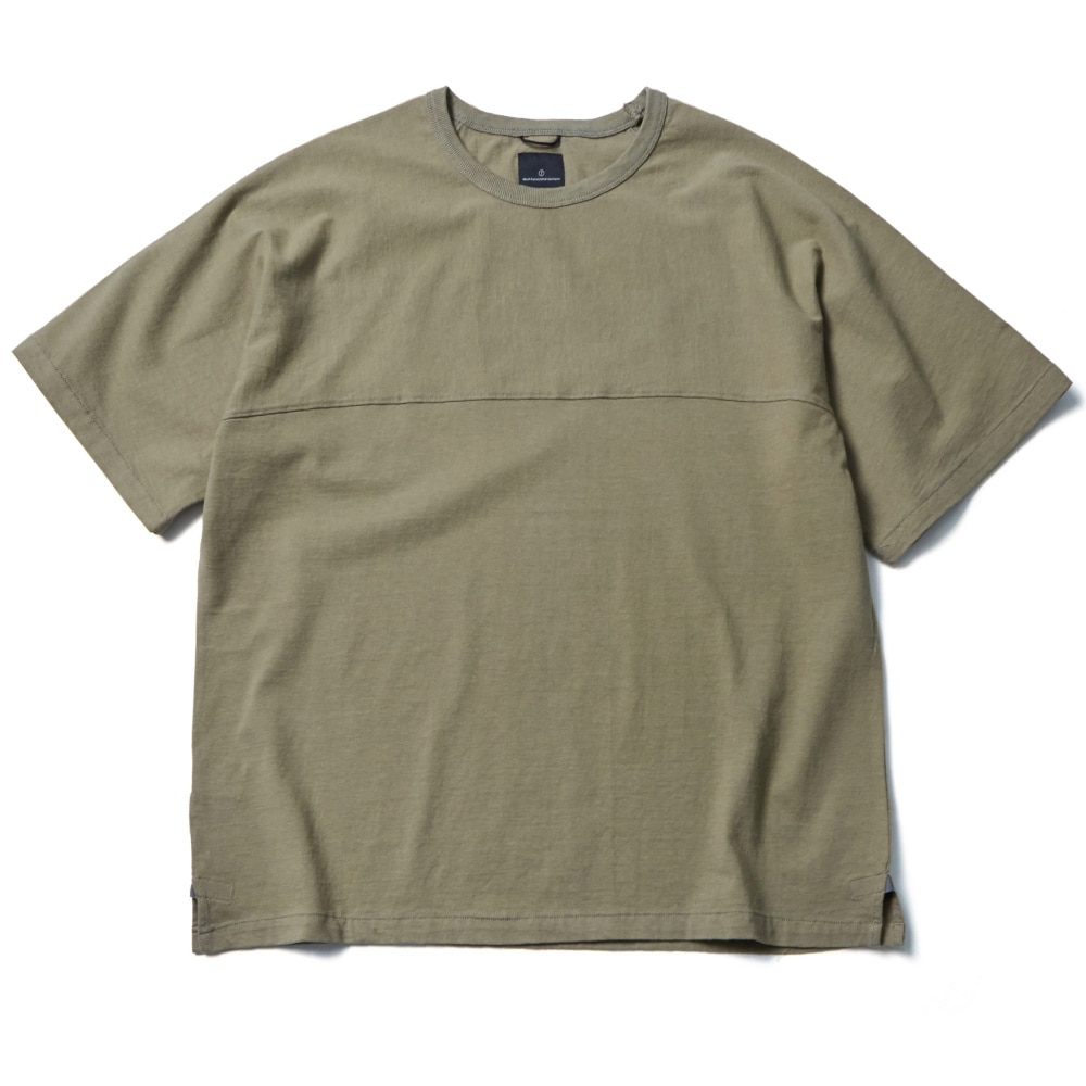 A.H LESS HALF SLEEVE OLIVE