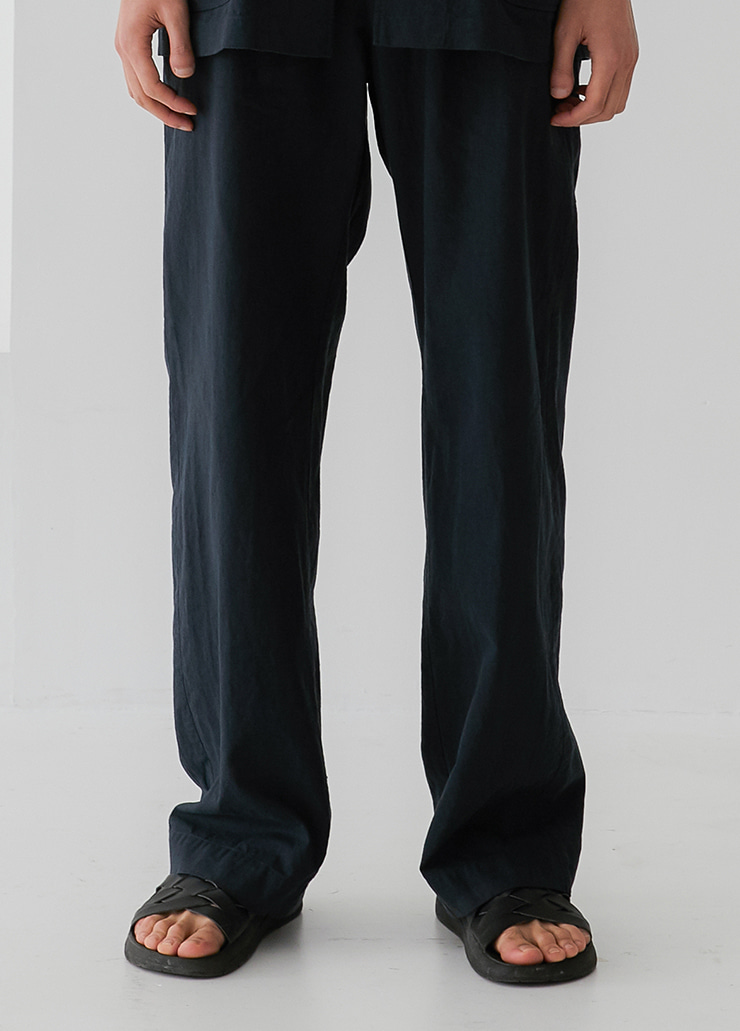 RIPLEY WIDE PANTS (NAVY)