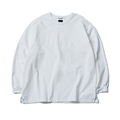 A.H LESS LONG SLEEVE WHITE