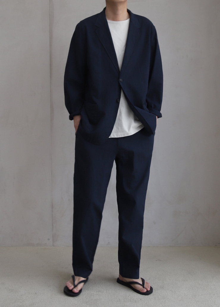 ALL WEATHE STANDARD SET-UP NAVY (LINNEN)