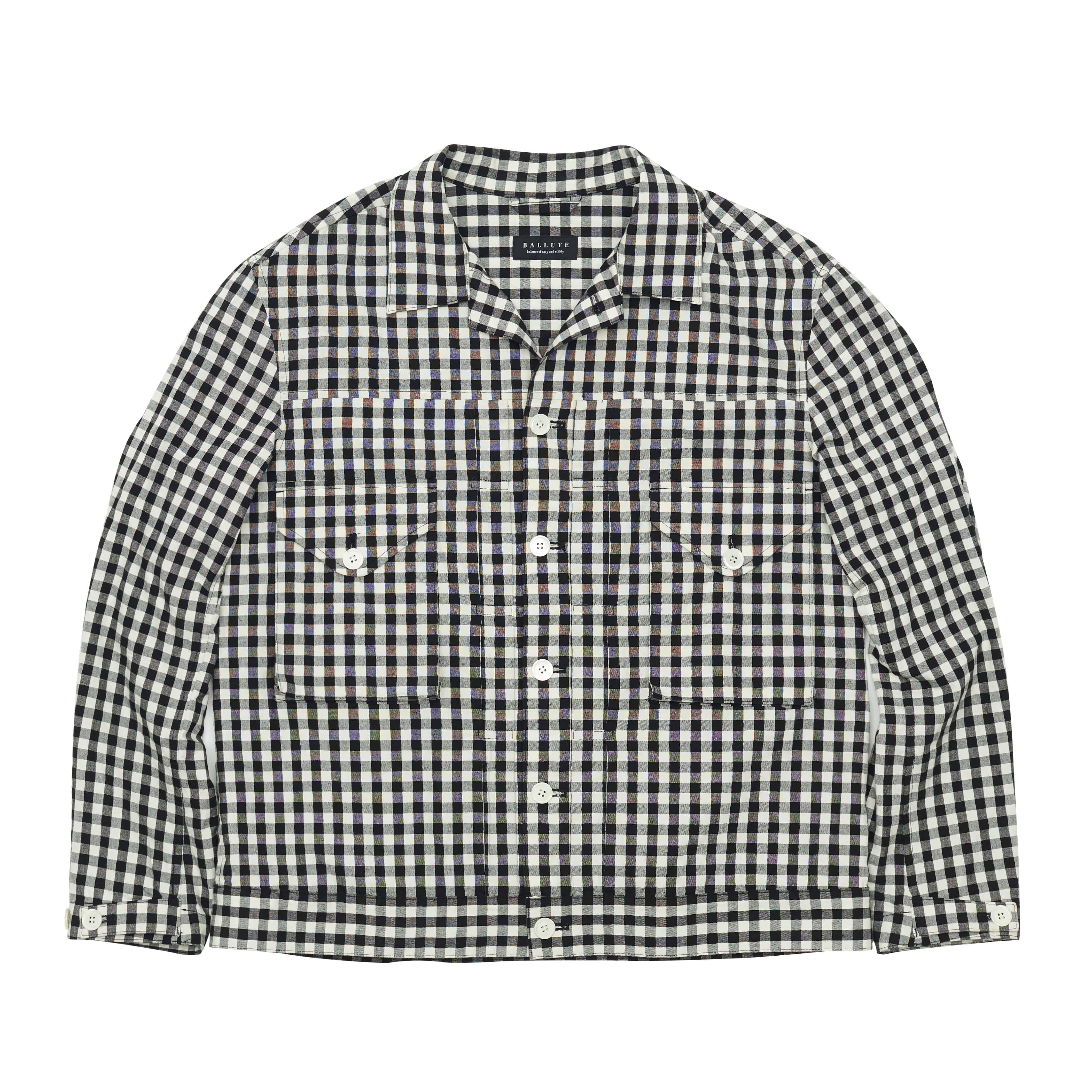 EASY TRUCKER SHIRT JACKET (GINGHAM CHECK)