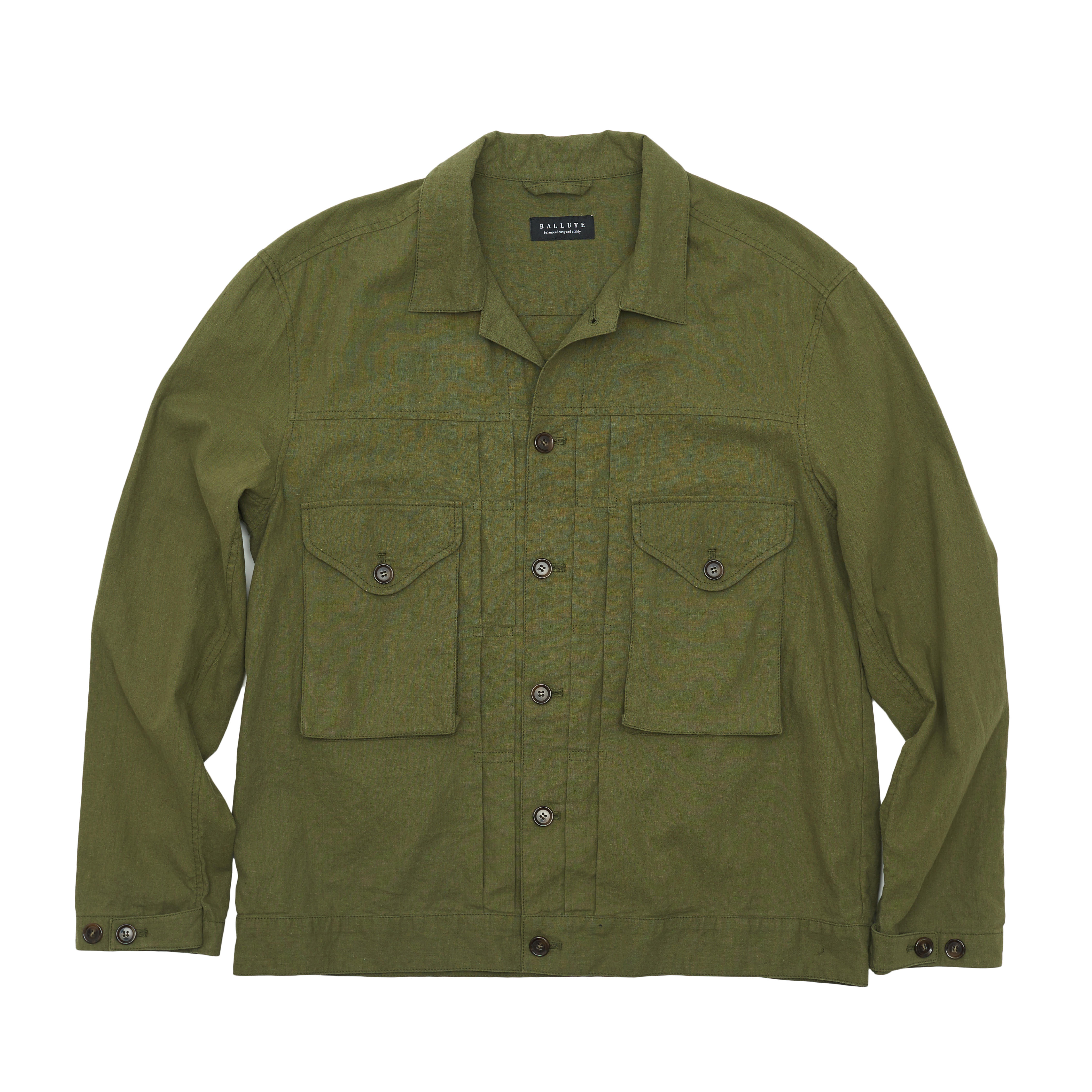 EASY TRUCKER SHIRT JACKET (OLIVE)
