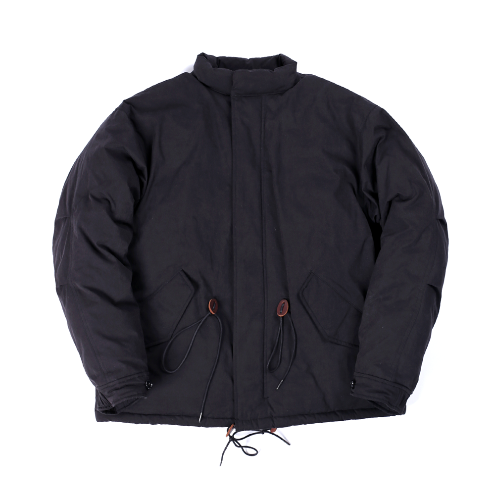 GOOSE DOWN VOID PARKA (BLACK)