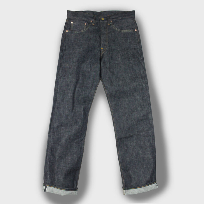 DEMIL. MFG., LOT 009P 14oz Regular Straight Denim