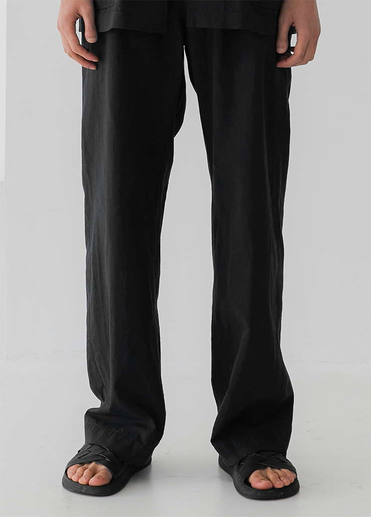 RIPLEY WIDE PANTS (BLACK)